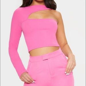 Pretty little thing one shoulder top